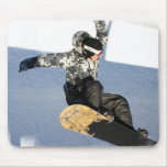 Snowboard Launch Mouse Pad