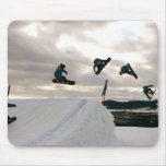 Snowboarding Tricks Mouse Pad